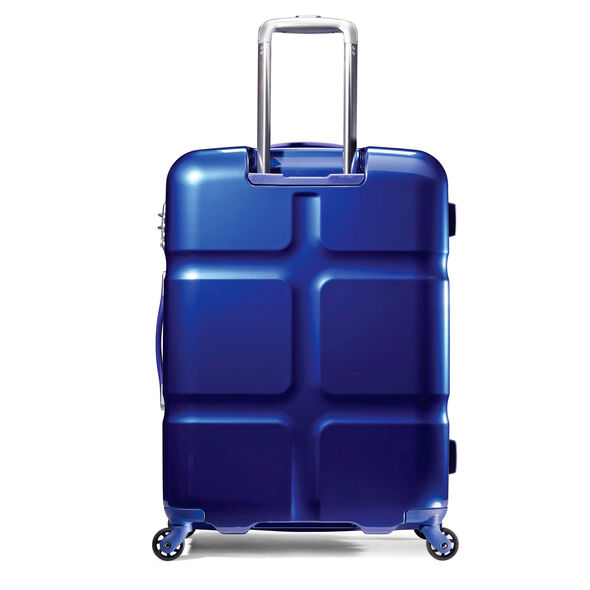 """American Tourister Cube Pop 31"""" Spinner in the color Blue."""