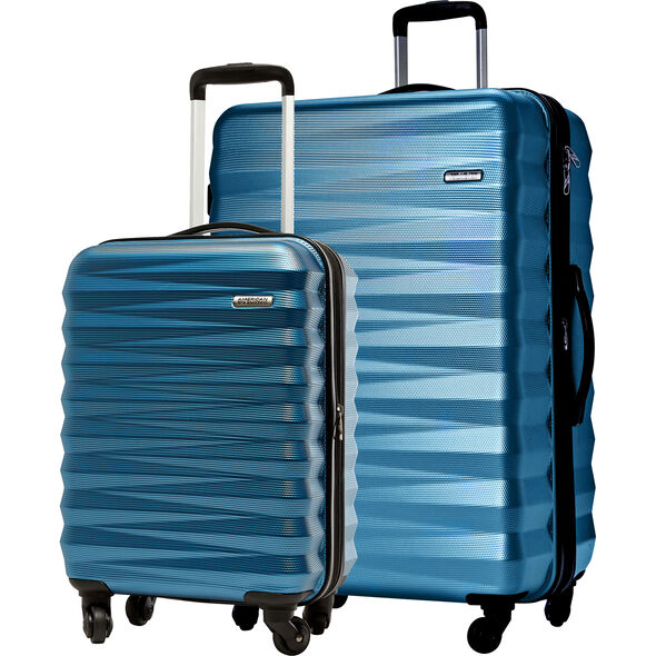 American Tourister Triumph NX 2 Piece Set in the color Periwinkle.