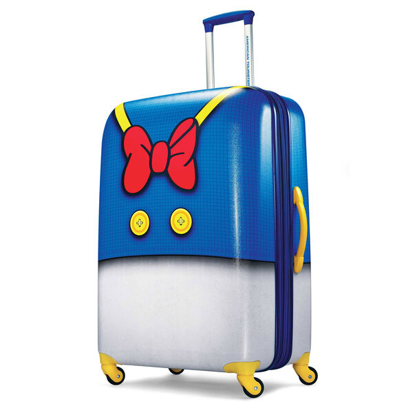 """American Tourister Disney 28"""" Spinner in the color Donald Pants."""