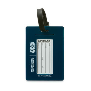Star Wars ID Tag in the color Darth Vader.