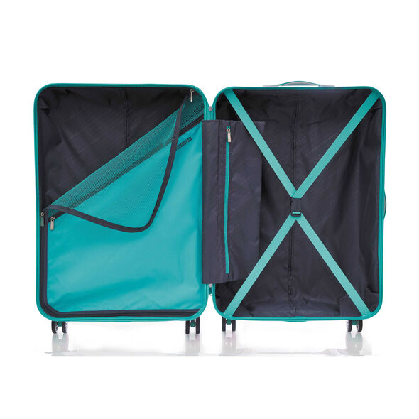 """Z-Lite DLX 24"""" Spinner in the color Pastel Turquoise."""