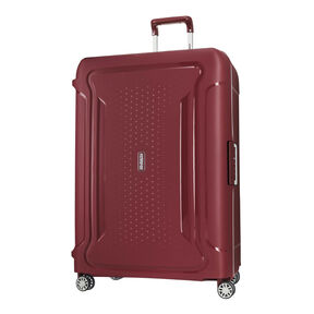 "American Tourister Tribus 29"" Spinner in the color Red."