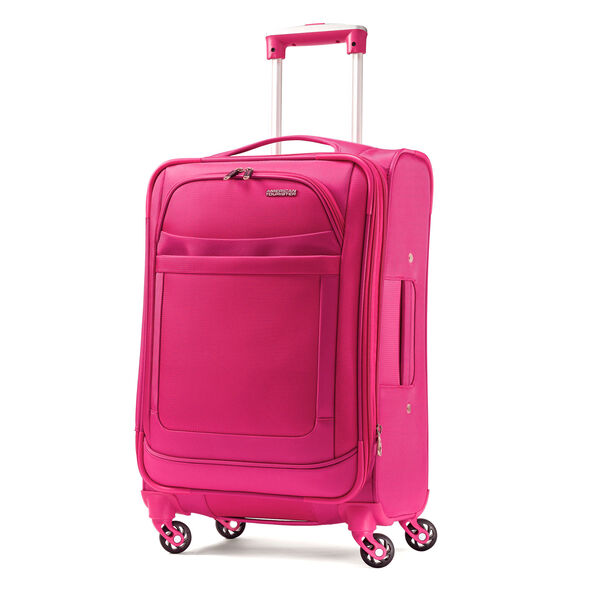 """American Tourister iLite Max 25"""" Spinner in the color Raspberry."""