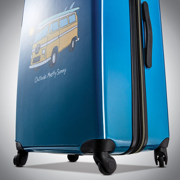 American Tourister Life Is Good Spinner Carry-On in the color Van.