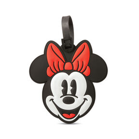 American Tourister Disney ID Tag Minnie Mouse in the color Minnie Head.