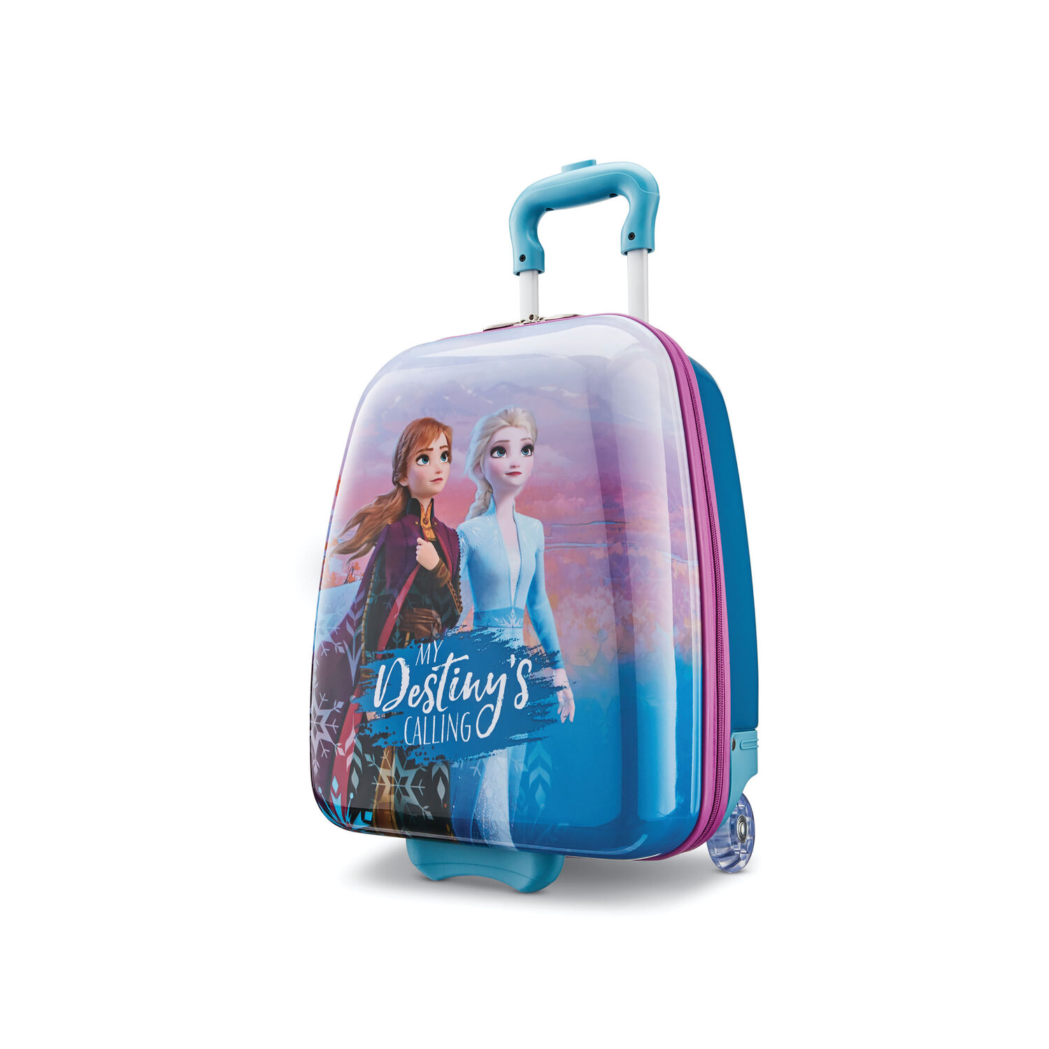 "American Tourister Disney Kids Frozen 2 16"" Hardside Upright in the color Frozen 2."