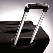 "American Tourister iLite Max 25"" Spinner in the color Black."