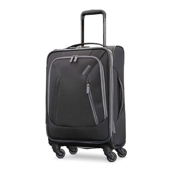 "American Tourister Sonic 21"" Spinner in the color Black."