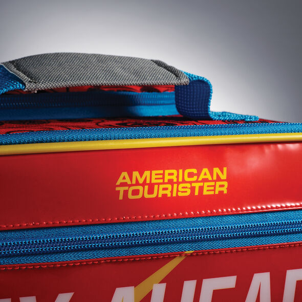 """American Tourister Disney 18"""" Softside Upright in the color Cars."""