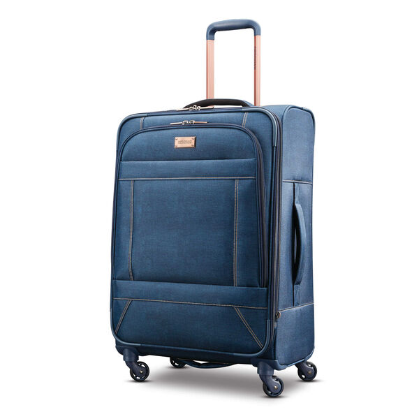 "American Tourister Belle Voyage 25"" Spinner in the color Blue Denim."