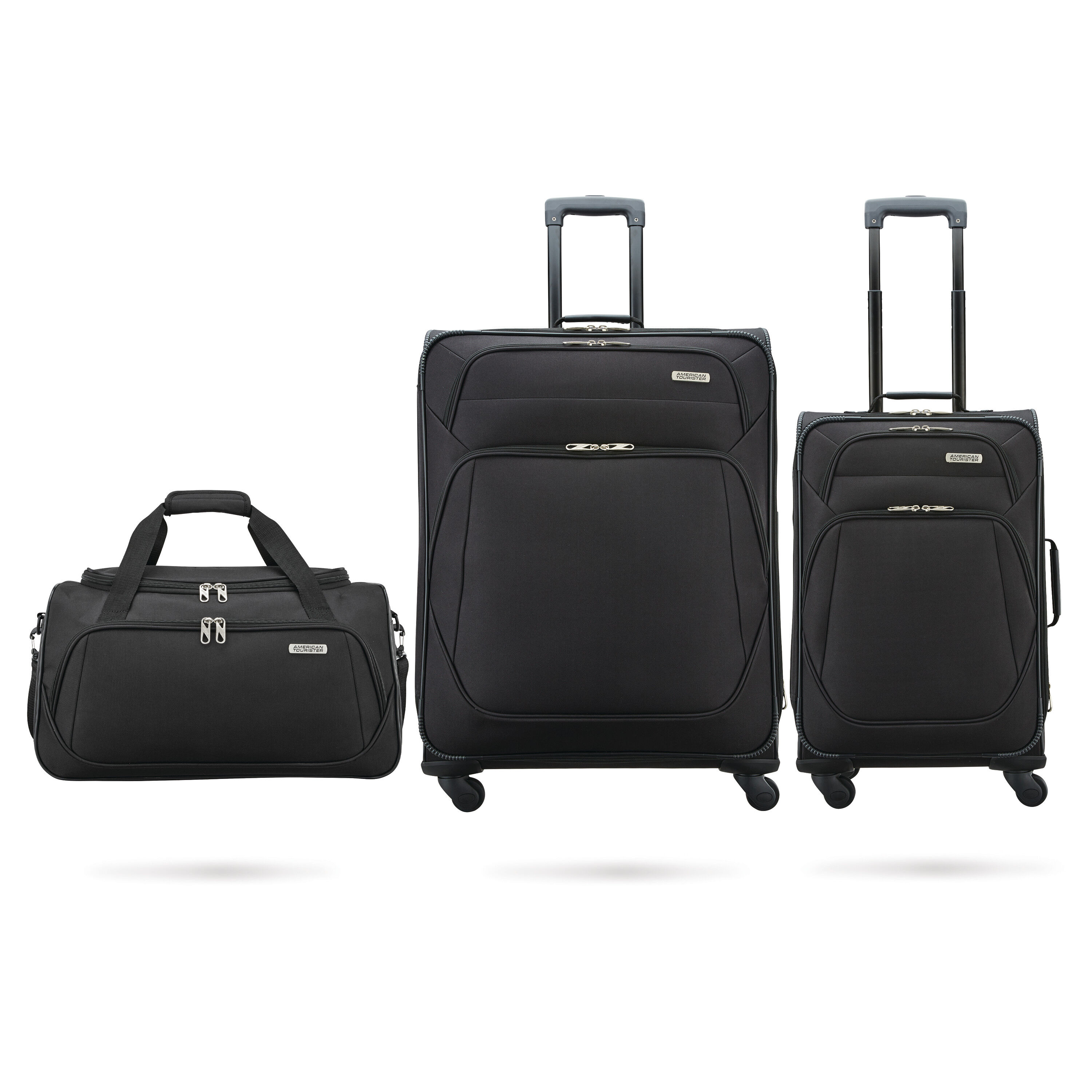 3-Piece American Tourister Stack-It Luggage Set