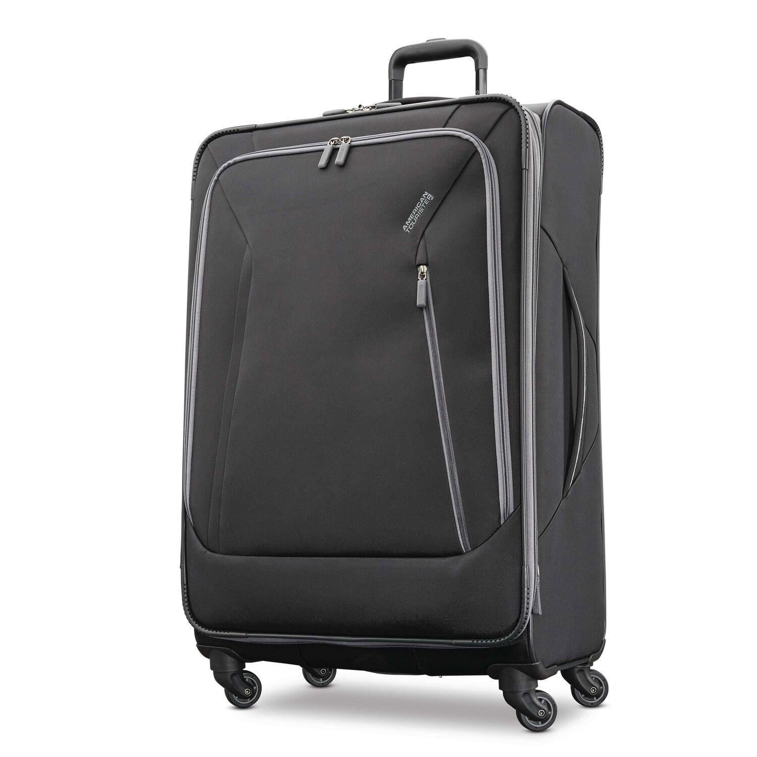 """American Tourister Sonic 28"""" Spinner in the color Black."""