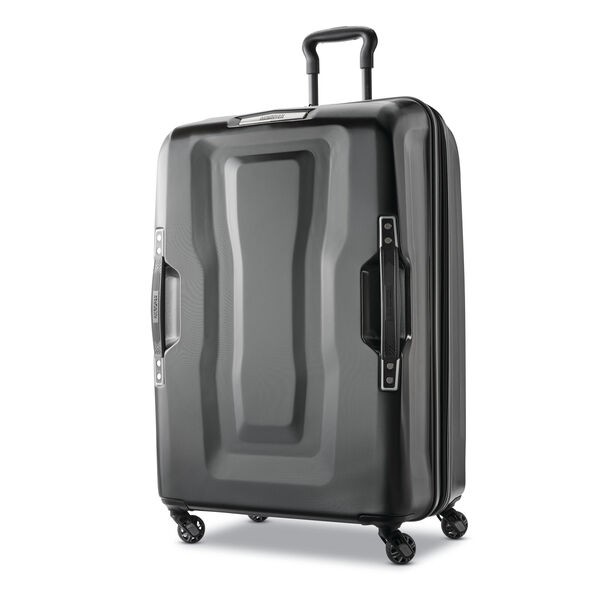 "American Tourister Cargo X 28"" Spinner in the color Black."