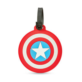 American Tourister Marvel ID Tag in the color Captain America Shield.