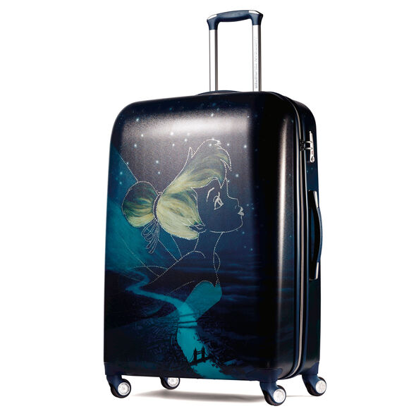 """American Tourister Disney Tinker Bell 28"""" Spinner in the color Tinkerbell."""