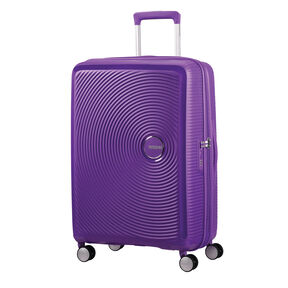 "American Tourister Curio 25"" Spinner in the color Purple."