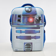 American Tourister Star Wars Hardside Backpack in the color R2D2.