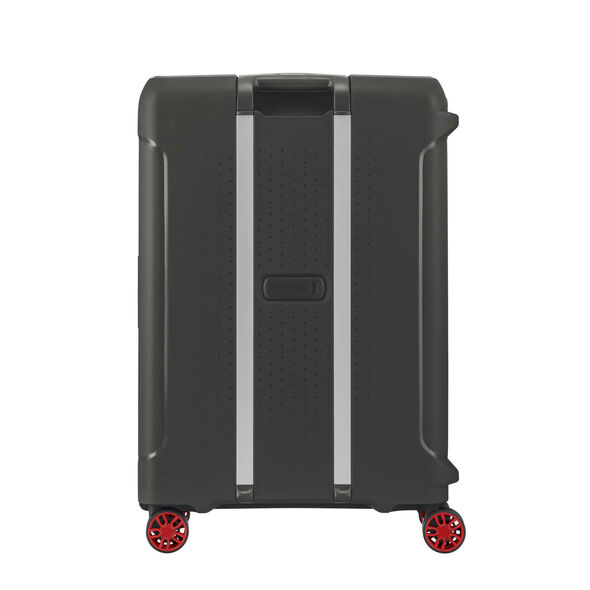 "American Tourister Tribus 25"" Spinner in the color Black."
