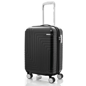 "American Tourister Dartz 20"" Spinner in the color Matte Black/Checks."