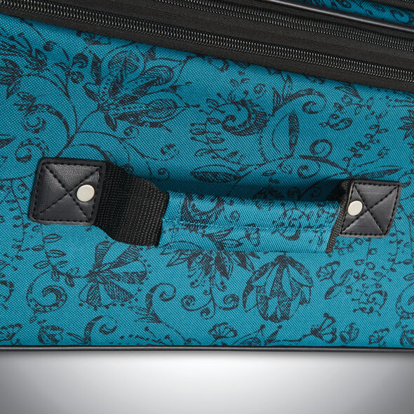 American Tourister Riverbend 4 Piece Set in the color Teal Floral.