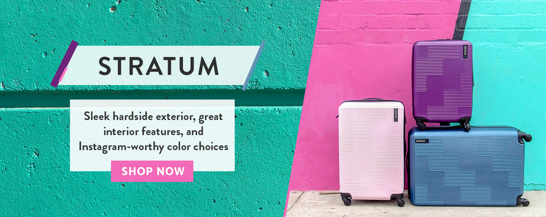 American Tourister - Pack More Fun | Stylish, High Quality and Fun