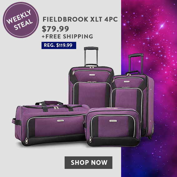 Weekly Steal limited time offer. Get the Fieldbrook XLT 4PC Set for only   79.99. 42b1dc522854